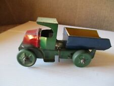 Vintage antique tin wind up Marx Dump Truck