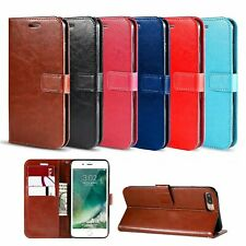 Classic Flip Wallet Phone Case Cover For Samsung S6 S10 S20 FE J3 J4 J7 Note 8 9