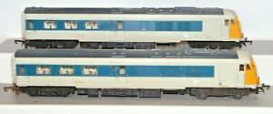 Triang R555C Blue Grey Pullman Power and Dummy Locomotive W60095 W60097 Unboxed