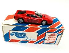 Record MRF 1/43 Red Ferrari Testarosa Resin Handmade Model Car Kit