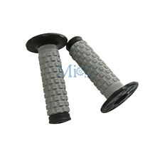 """7/8"""" Soft Handlebar Throttle Hand Grips For Motorcycle Dirt Pit Bike Parts"""