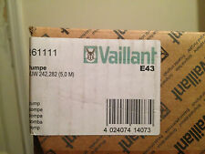 VAILLANT BOILER PUMP 161111 NEW