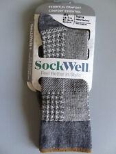 NEW Sockwell Haberdashery Essential Comfort Merino Wool Crew Socks Men's M/L