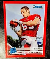 2019 ANDY ISABELLA 💥RATED ROOKIE💥 (PRESS PROOF) Panini Donruss #326 CARDINALS