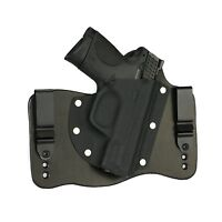 "FoxX Leather & Kydex IWB Hybrid Holster S&W M&P Compact 3.5"" 9,40 & 45 Black RH"
