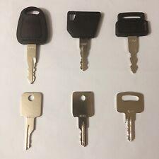 6 keys TEREX heavy equipment/construction ignition key set
