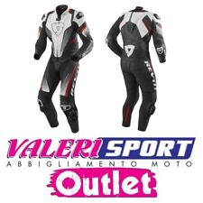 REVIT LEATHER SUIT SPITFIRE BLACK RED WHITE MOTOGP SBK YAMAHA HONDA KAWA YAMAHA