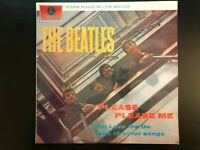 "The Beatles ""Please Please Me"" Oz Press PCSO-3042 Stereo Orange/Black VG+/Ex Con"