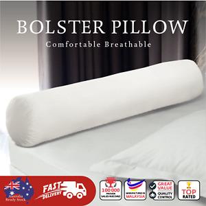 Flew Hug Bolster Pillow 100% Polyester Fibrefill Soft Fluffy 21cm x 90cm