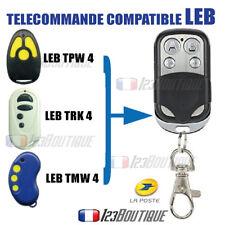CLONE TELECOMMANDE LEB TPW TRK TWM Badge garage portail , 433 mhz code fixe
