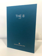 "BMW 8 Series ""The 8"" Coupé - Hardback Brochure Genuine in English RARE 2019"