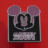 SMALL Disney Enamel Pin Badge Mickey Mouse Emotion Face Pin