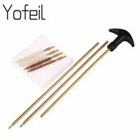 Tactical Hunting Barrel Cleaning Kit bristle Wire Airsoft Cleaner Shortgun Rod