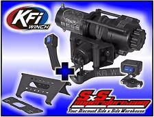 3500 lb KFI Stealth Syn Winch Combo Polaris Ranger Full Size XP 570 900 2015-18+