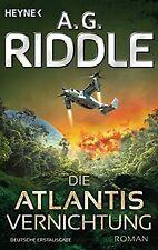 Die Atlantis-Vernichtung: Band 3 - Roman (Die Atlantis-T...   Buch   Zustand gut
