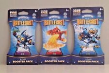 SET OF 3- SKYLANDERS MOBILE GAME  BATTLECAST 8-CARD BOOSTER PACK