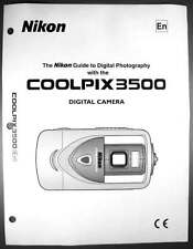 Nikon CoolPix 3500 Digital Camera User Guide Instruction  Manual