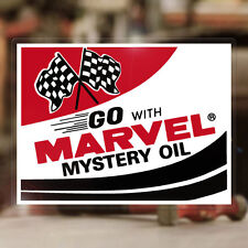 Marvel Mystery Oil sticker autocollante pegatina hot rod old school Autocollant
