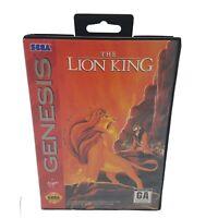 THE LION KING - Disney - Sega Genesis - Complete CIB - Cleaned & Tested