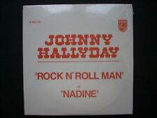 CD single Johnny Hallyday ROCK N' ROLL MAN-NADINE-Neuf