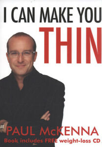 I can make you thin by Paul McKenna (Paperback) Expertly Refurbished Product