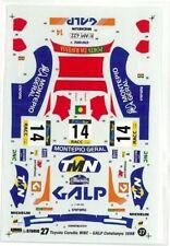 "STUDIO27 1/24 TOYOTA COROLLA ""GALP"" WRC Catalonia '98 DC170 Decal"