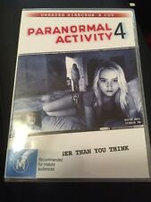 Paranormal Activity 4 [Unrated Director's Cut] (2013, DVD Like New)