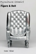 AS1001-02 The Vogue  Silver Plastic Chair for Barbie FR FR2 Homme