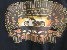 American Iron Horse Motorcycle T-Shirt - Men's Size Large