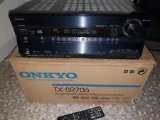 Onkyo av receiver/ampli-tuner Audio-video Black TXSR706