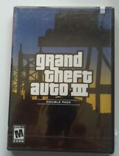 Grand Theft Auto 3 Double Pack (Sony Playstation 2, 2003) Still in plastic