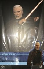 Hot Toys,Star Wars,Count Dooku,Figure.New and Sealed.IN STOCK UK.