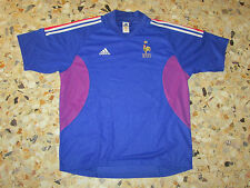 Maillot shirt jersey trikot ancien   EQUIPE FRANCE 2002-2003 ADIDAS XL