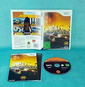 Need for Speed: Undercover Nintendo Wii Spiel Game Gaming Kult Super /144