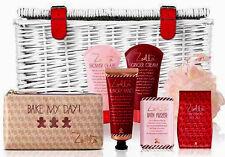 ZOELLA Sumptuous Wicker Basket Pamper Hamper Large Gift Set New Boxed