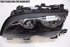 99 00 01 02 BMW 330Ci Driver Left Side Halogen Headlight OEM Lamp