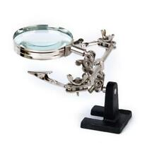 3rd Helping Hand Tool Magnifying Soldering Iron Clamp Stand Lens Magnifier