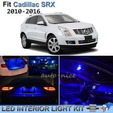 For 2010-2016 Cadillac SRX Brilliant Blue LED Interior Lights Kit 18 Pieces