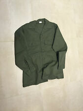 FATIGUE SHIRT  ,OLIVE,NEW OLD STOCK, MEDIUM, 15.5X35, US MADE,poly/cotton