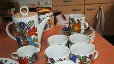 Villeroy Boch Acapulco Luxembourg Porzellan Kaffeetassen sechs Stück