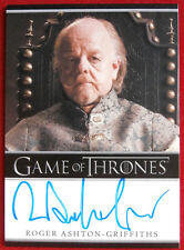 GAME OF THRONES - ROGER ASHTON-GRIFFITHS, Mace Tyrell - AUTOGRAPH Card - 2014