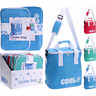 18L Summer Cooler Bag Foil Insulated Lunch Food Cans Ice Box Camping Picnic Bags