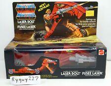 MOTU, Laser Bolt, Masters of the Universe, MOC, MISB, sealed box, He-Man vintage