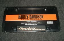 HARLEY DAVIDSON LICENSE PLATE FRAME DURABLE PLASTIC AUTO CAR TRUCK