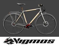El bambú velo Titan Wood madera MTB Titanium bike Rohloff Bamboo Pinion naturaleza bio