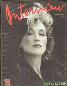 Interview Magazine--Dec. 1988--Meryl Streep-----15