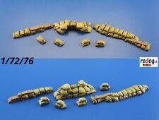 Redog 1/72 Sandbags Trenches / Resin Diorama Kit Model Building 3