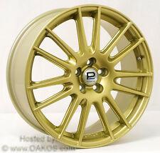 "Prodrive GT1 Wheel (18x7.5"", 48, 5x100), GOLD SINGLE Rim for BRZ/FR-S"