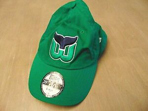 NEW ERA NHL 2920 RETRO HARTFORD WHALERS GREEN SLOUCH STRETCH FITTED HAT L