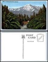 CALIFORNIA Postcard - Cucamonga Mountains R41